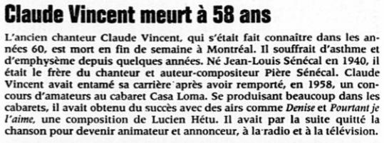 La Presse, 27 mai 1998.
